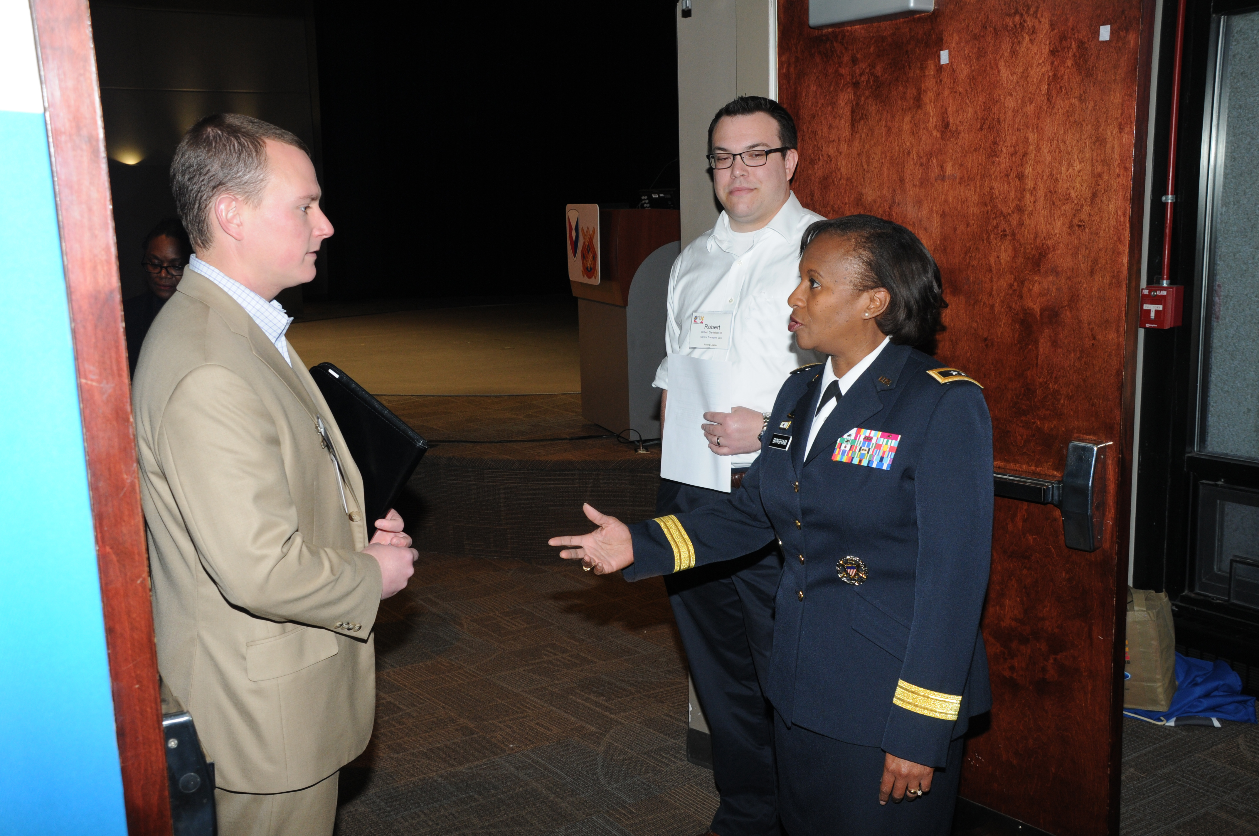 Dec Young Leader Series Major General Gwen Bingham