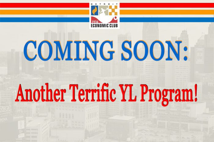 Coming Soon: Another Terrific YL Program!